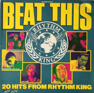V/A - Beat This: The Hits Of Rhythm King (LP) (G+/G+)
